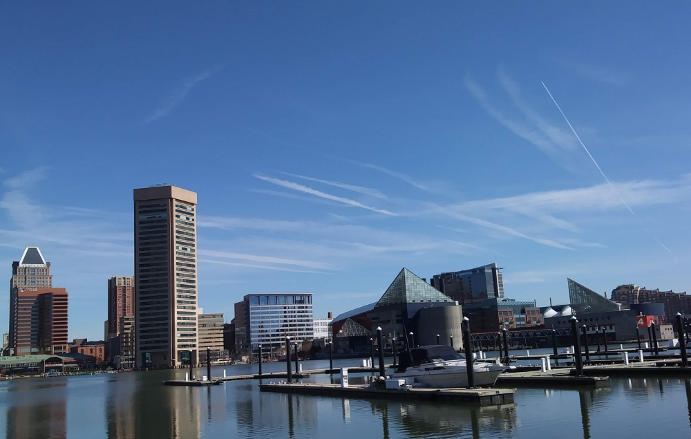 inner harbor, baltimore, day trip