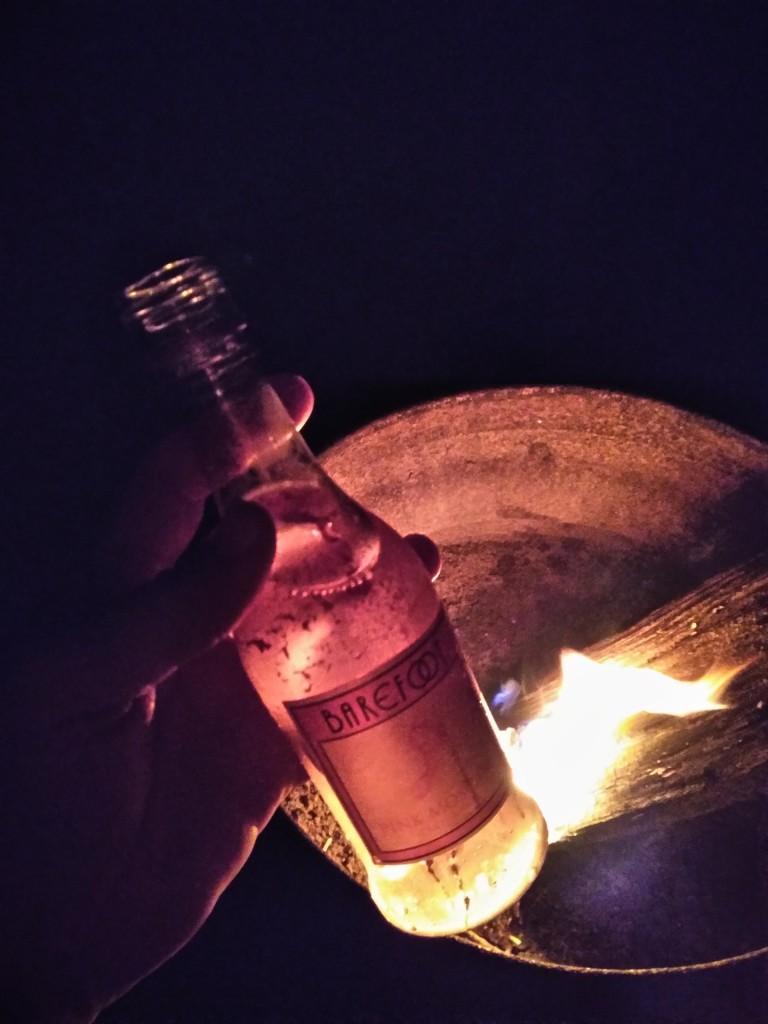 campfire, barefoot wine, moscato, delaware,